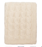 Big Cable Knit Throw