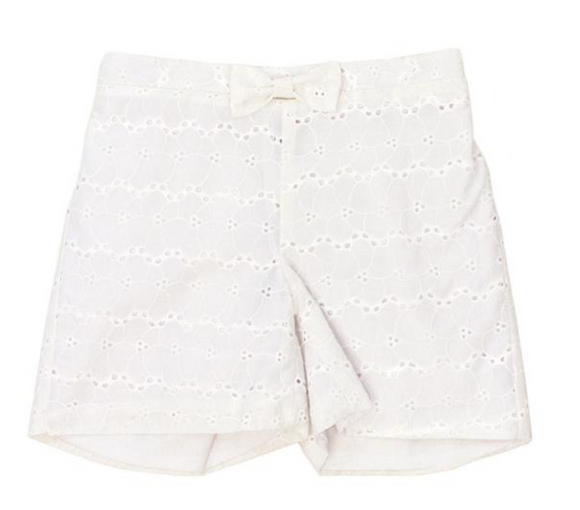 Eyelet Children's Shorts