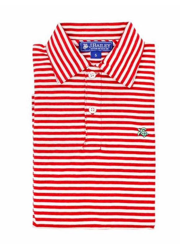 Striped Toddler Polo