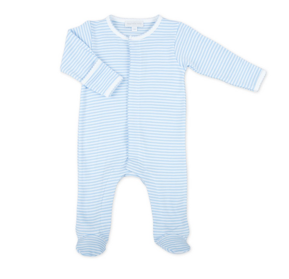 Essentials Striped Infant Footie
