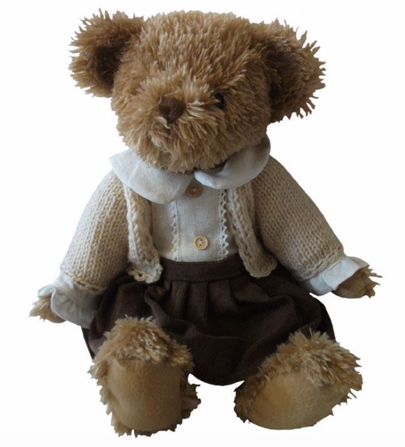Girl Cardigan Bear