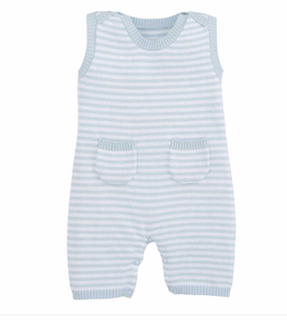 Striped Sweater Knit Infant Onesie