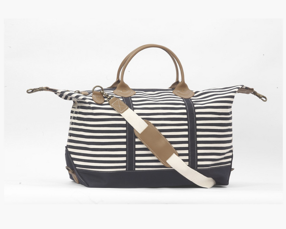 Signature Duffle Karma Striped Bag