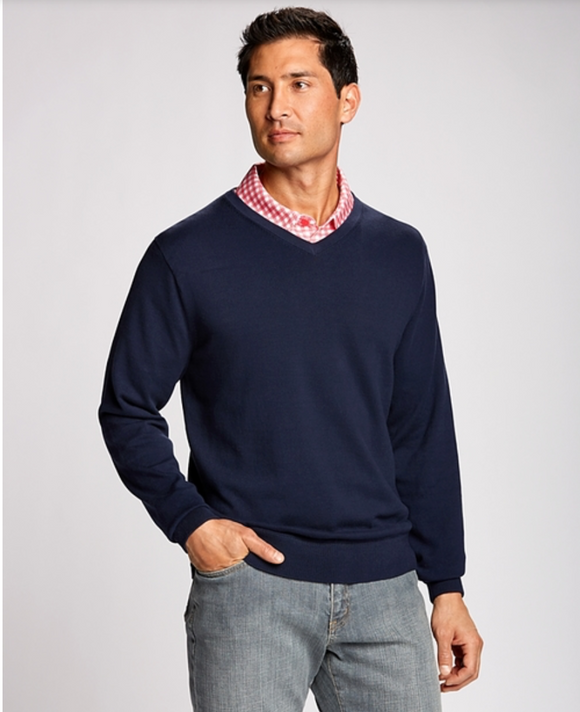 Lakemont V-neck Men's Sweater