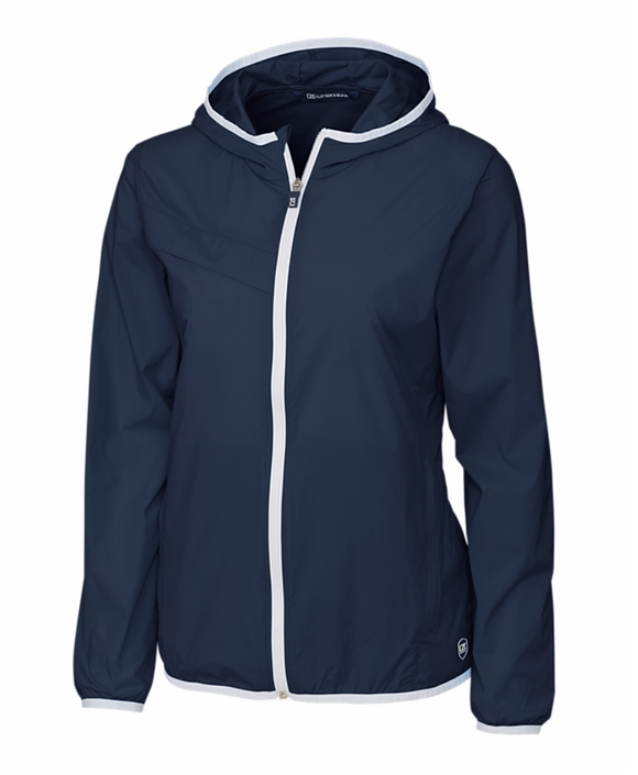 Breaker Hooded Ladies Jacket