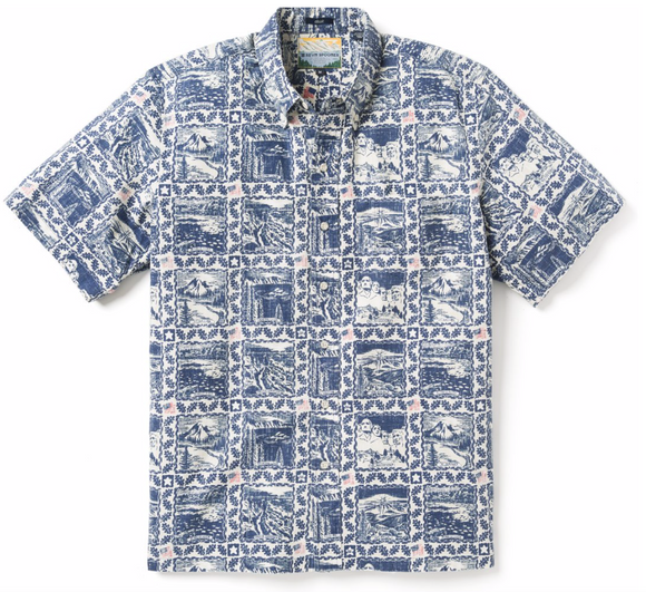 Summer Commemorative Pullover Men's Shirt