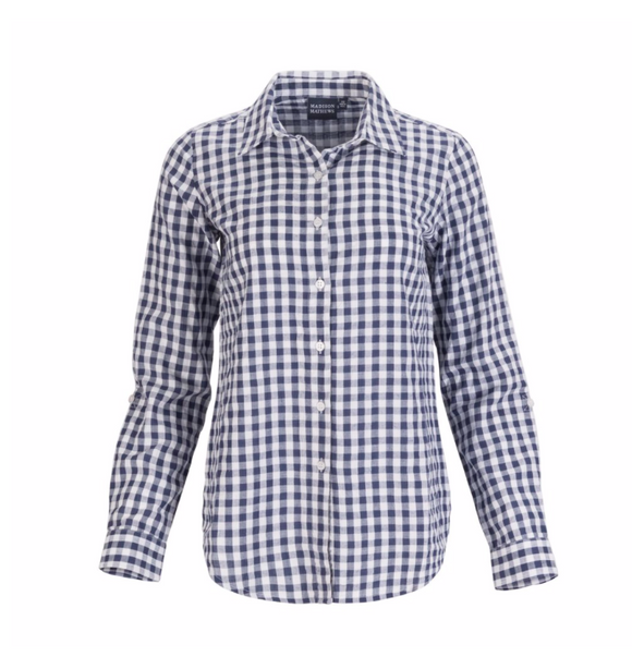 Gingham Ladies Shirt