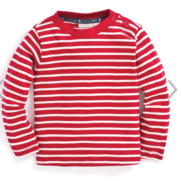 Breton Striped L/S Children's Tee
