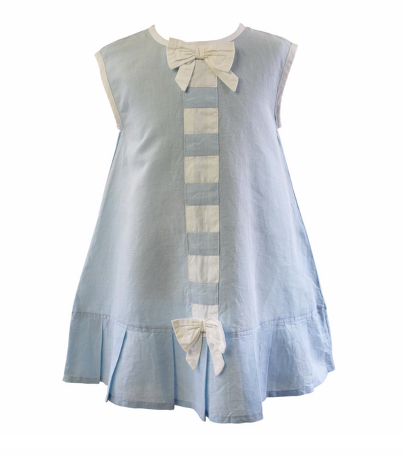 Ribbon-Bow Infant/Toddler Dress