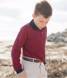 Striped L/S Children's Polo