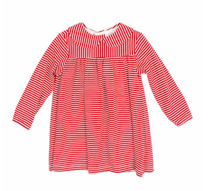 Striped L/S Toddler Dress
