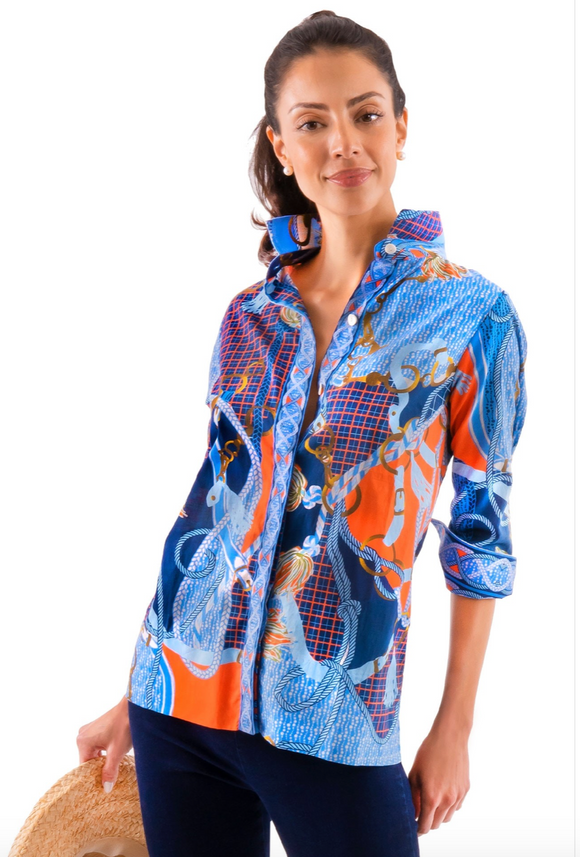 Ditto Print Ladies Shirt