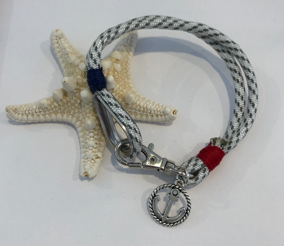 Thimble with Anchor Charm Bracelet