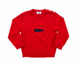 Whale Infant Sweater