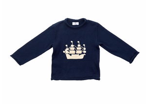Tall Ship Toddler Sweater