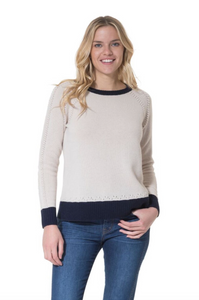 Trimmed Novelty Ladies Sweater