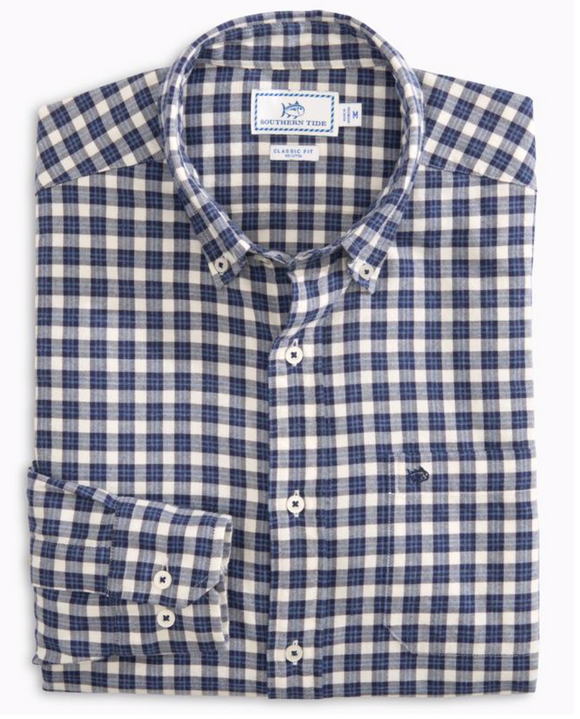 Bluefin Check Men's Shirt