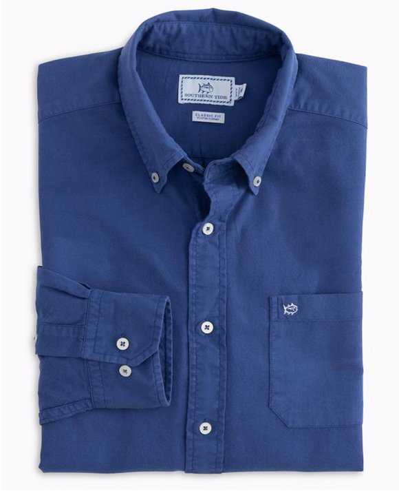 Garment Dyed Oxford Men's Shirt