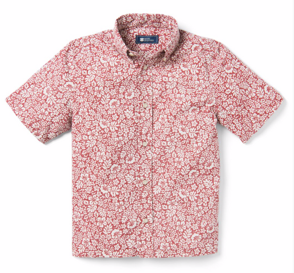 Moorea Garden Button Front Men's Shirt
