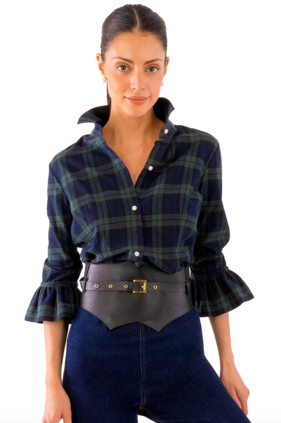 Plaid Priss Ladies Shirt