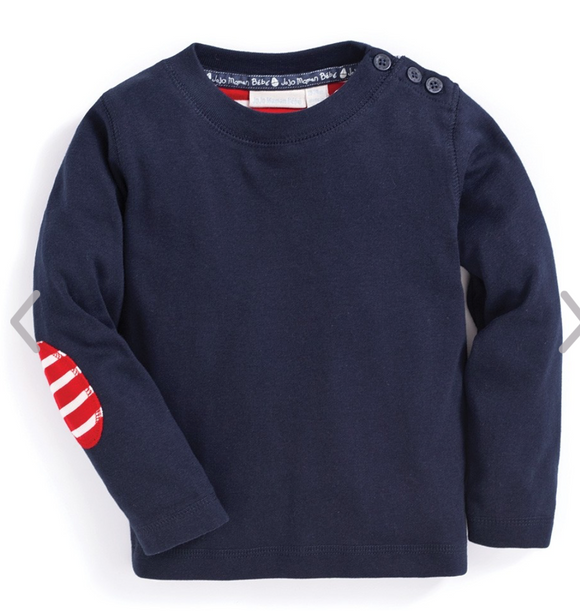 Solid Long Sleeved Children's Tee