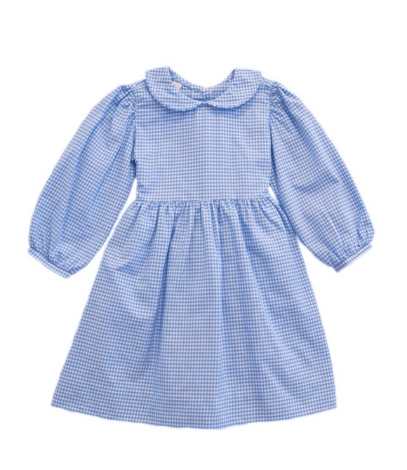 Gingham Check Toddler Dress