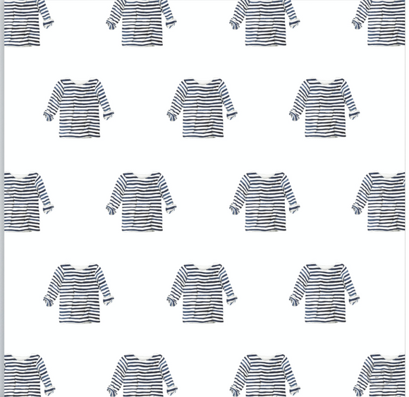 Striped Shirt Gift Wrap