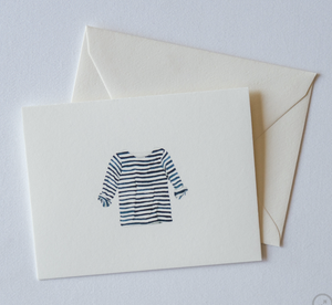 Striped Shirt Boxed Notecards