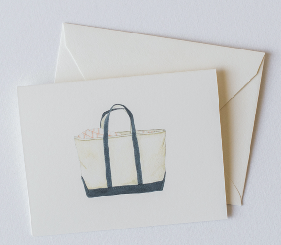 Canvas Tote Boxed Notecards
