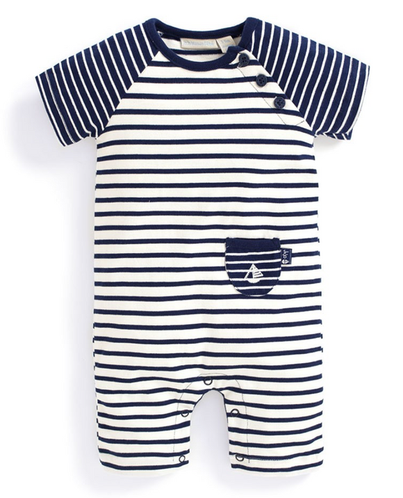 Breton Striped Infant Onesie