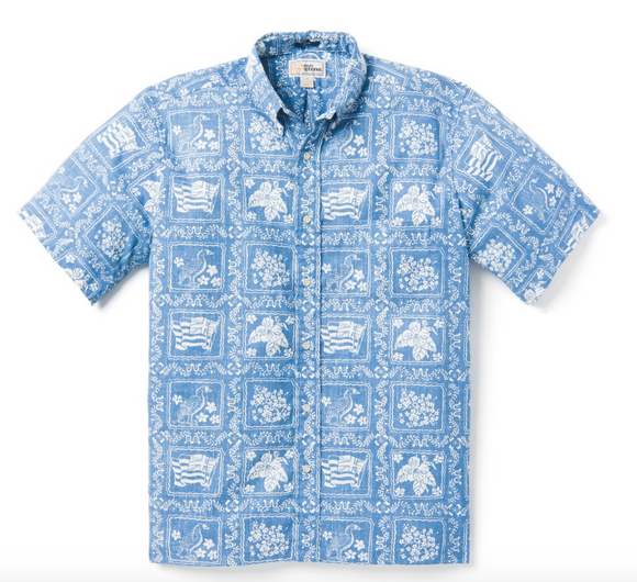 Lahaina Sailor Button Front Men's Shirt