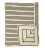 Beach Stripes Knit Throw