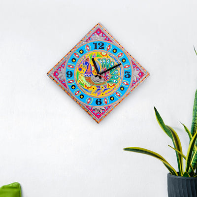 Handmade Chamak Patti Unique Wall Clocks