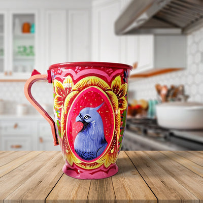 Hand Painted Decorative Truck Art Jugs