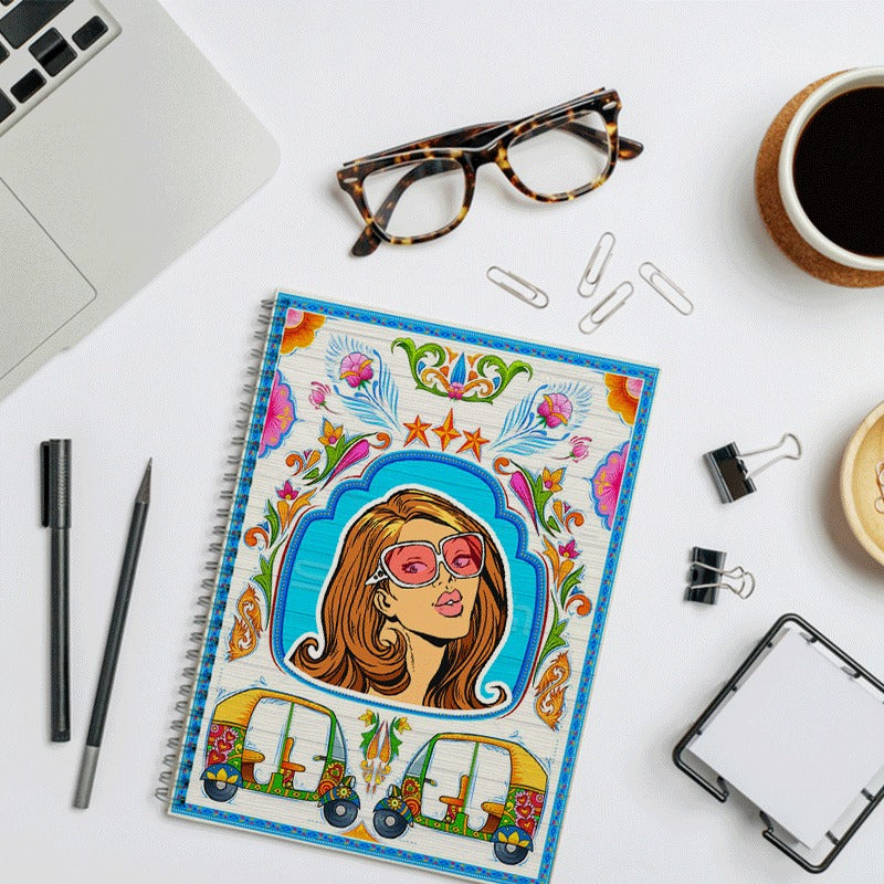 Truck Art Inspired Notebooks