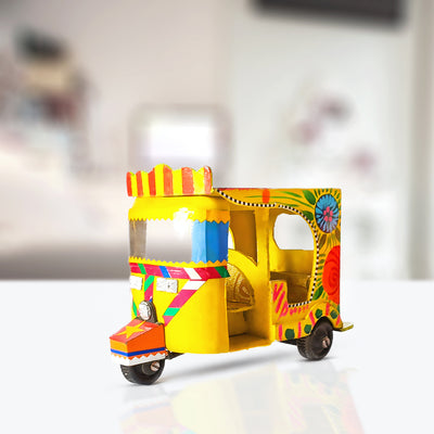 Truck Art Inspired Rickshaws
