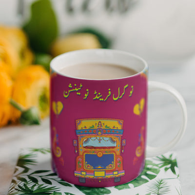 Truck Art Inspired Digital Mugs