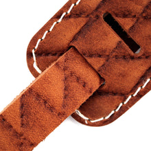 Load image into Gallery viewer, Richter Guitar Strap RAW II CONTOUR SEW TAN #1501