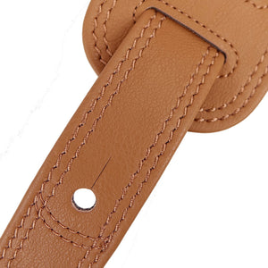 Richter Guitar Strap Springbreak I VEGAN Light Brown #1638