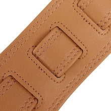 Load image into Gallery viewer, Richter Guitar Strap Springbreak I VEGAN Light Brown #1638