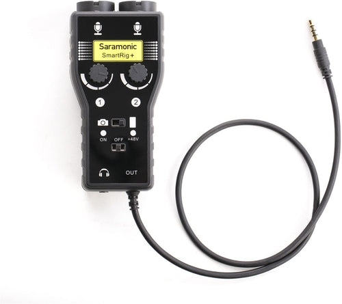 Saramonic smartrig + 2 Channel Microphone and Guitar Interface