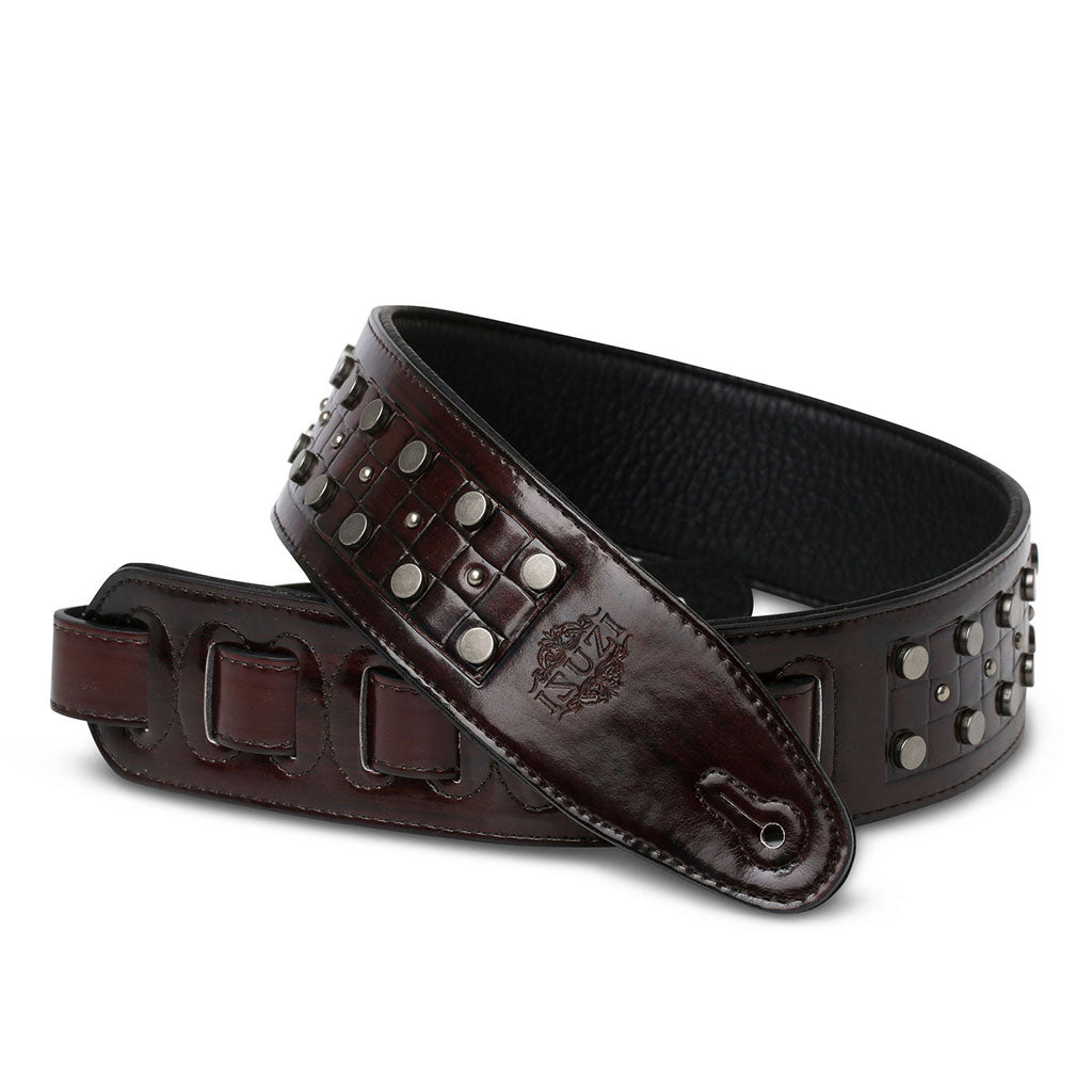 ISUZI DLX21-6 Dark Brown Garment Leather Strap