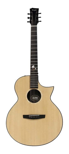 Enya X2C-Pro-E Electro-acoustic Guitar with Cutaway