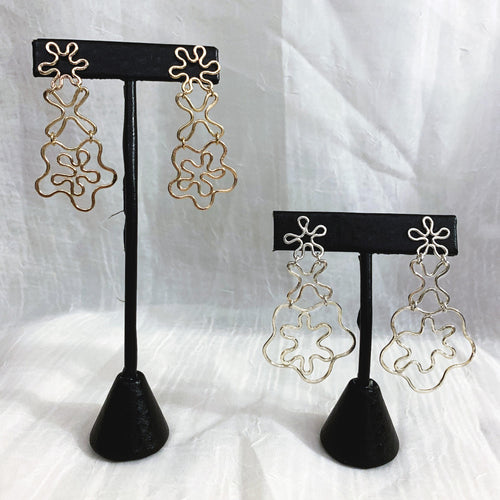 Flower Power Earrings no. 2