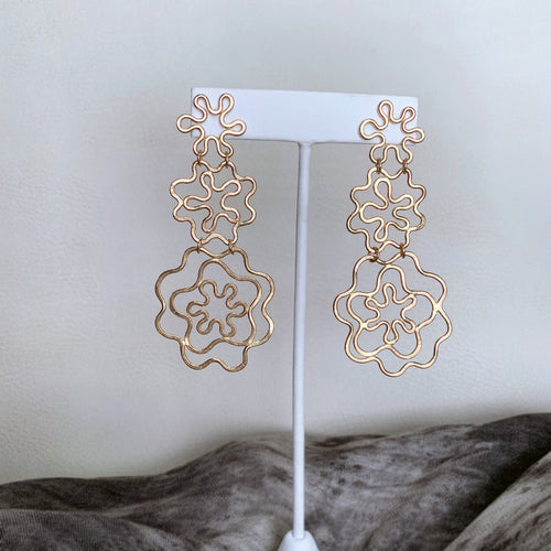 Flower Power Earrings no. 1