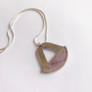 Rhodonite Treasure Necklace