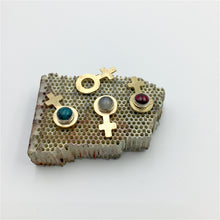 Female Symbol Pins