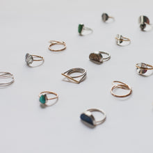 Modern ring collection by Knucklekiss