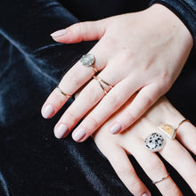 Knuckle Kiss celestial inspired rings