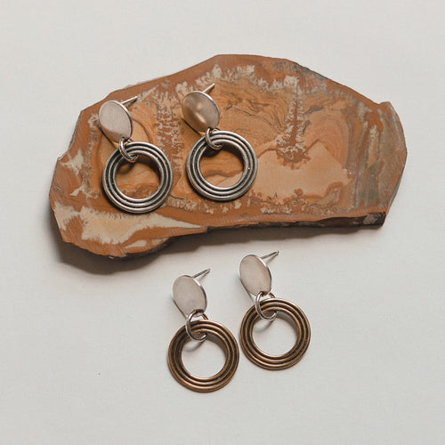 Halo Earrings (WHSL)